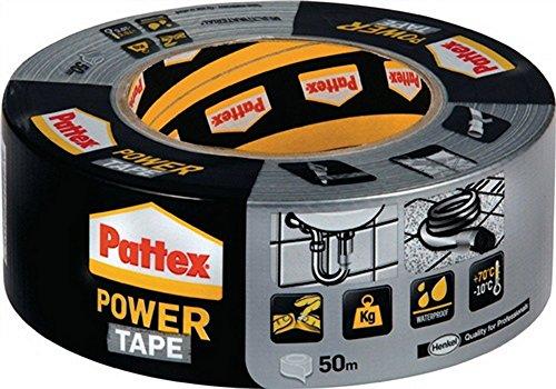 Gewebedichtband PP50S Powertape B.50mm 50m univ. HENKEL, 12 Stück