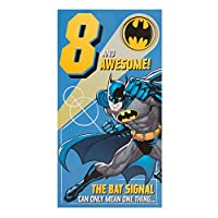 Hallmark Batman 8th Birthday Card