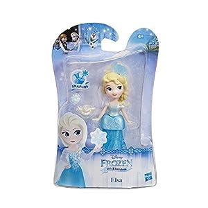 Hasbro Disney Frozen Little Kingdom Elsa with Shimmers muñeca - Muñecas (Multicolor, Femenino, Chica, 4 año(s), 76,2 mm, Ampolla)