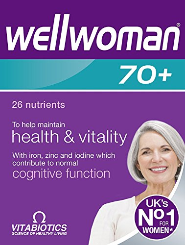(6 PACK) – Vitabiotics Wellwoman 70+ Tablets   30s   6 PACK – SUPER SAVER – SAVE MONEY