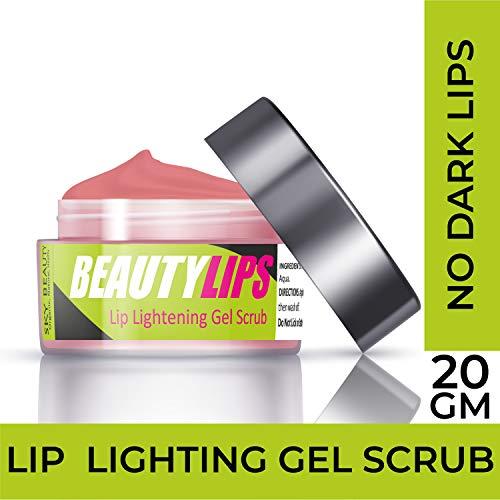 SKY BEAUTY CARE BeautyLips Lip Lightening Gel Scrub for Treating Dark Lips for Men and Women (20 g)