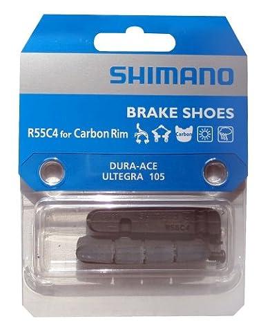 SHIMANO Cartridge Bremsgummi 'R55C4' für Rennbremse, SB-verpackt Gute Leistung bei