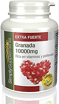 Super Strength POMEGRANATE 10000mg|Powerful & Highly Absorbent Antioxidant|240 Tablets from Simply Supplements