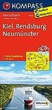 Kiel - Rendsburg - Neumünster: Fahrradkarte. GPS-genau. 1:70000: Fietskaart 1:70 000 (KOMPASS-Fahrradkarten Deutschland, Band 3004)