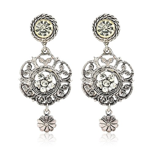 Crunchy-Fashion-Jewellery-Oxidised-Silver-Plated-Stylish-Earrings-for-Girls-Fancy-Party-Wear-Earrings-for-Women
