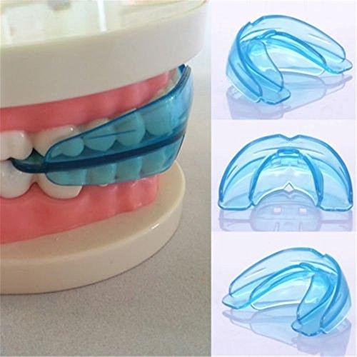 HENGSONG Dental Ausrichtung Hosenträger Mundstücke Kieferorthopädische Zahnspange (Klar Blau)