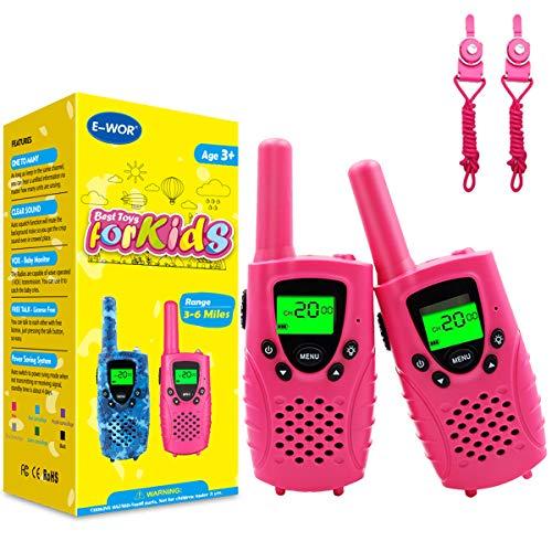 Walkie Talkie Bambini, 8 Canali PMR446 MHz...