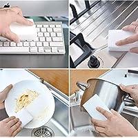ZUILEE 100Pcs/lot Eraser Magic Melamine Cleaning Sponge 10x6x2CM, 100pcs cleaning sponge