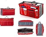 Zurato Multi Compartment Pocket Travel Handbag Organizer Gadget Pouch Travel Toiletry Bag Organizer-Cosmetic