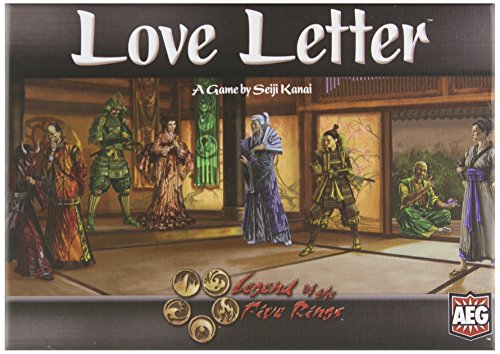 Alderac Entertainment 5107 - Love Letter Legend of The 5 Rings Edition