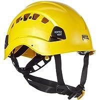 Petzl Helm Vertex Vent - Casco de ciclismo multiuso, color Amarillo, talla 53-