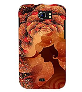 PrintDhaba Abstract Image D-4114 Back Case Cover for MICROMAX A110Q CANVAS 2 PLUS (Multi-Coloured)