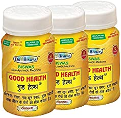 Dr. Biswas Ayurvedic Good Health 50 Capsules - Pack of 3