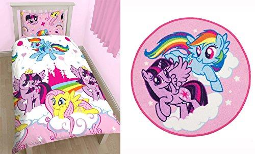 My Little Pony Equestria singolo set di biancheria da letto e tappeto