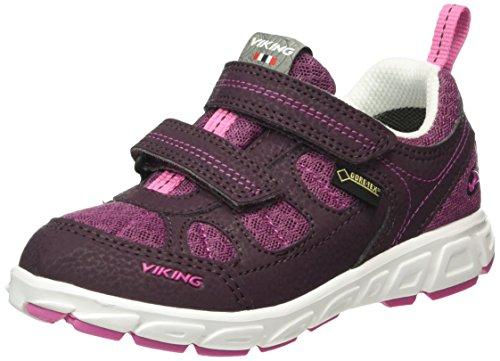 Viking Unisex-Kinder Ludo Low Top Violett (Plum/Aubergine 6283)