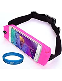Sumaclife Outdoors Sport Running Belt Waist Fanny Pack Pouch Case - Samsung Galaxy Note 5 / Note 4 / Note Edge...