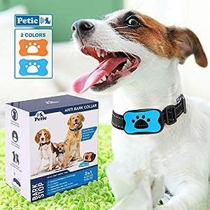 Collier anti aboiement sonore à vibrations pour chienCe collier anti aboiement est sûr et sans cruauté.