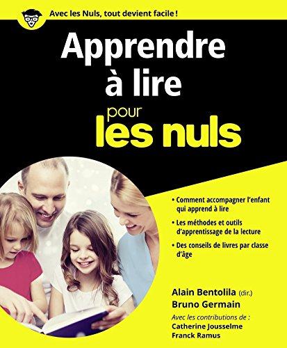 Telecharger Apprendre A Lire Pour Les Nuls Francais Pdf