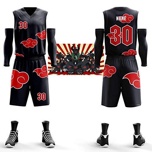 ierte Basketball Uniform, Dragon Ball, Pirat, Persönlichkeit, Basketball Weste, Wettbewerb, benutzerdefinierte Trikot (fünf Sätze)-XL ()