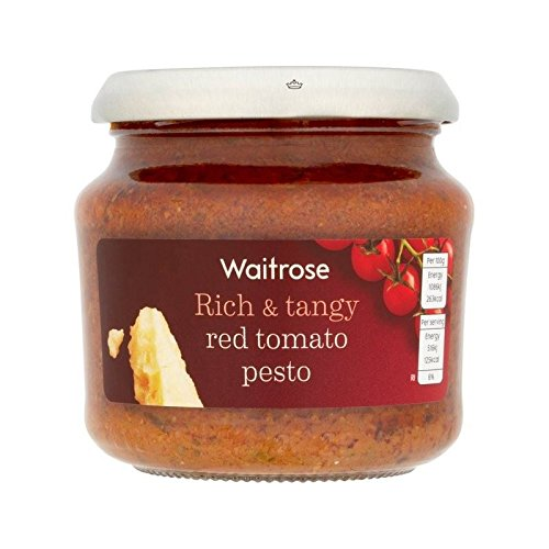 Rouge Tomate Pesto Waitrose 190G - Paquet de 4