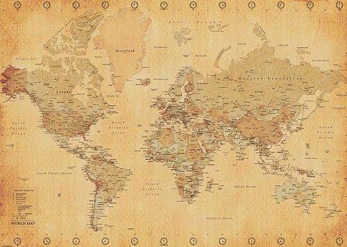 poster-xxl-mappemonde-carte-du-monde-style-ancien-vintage-140cm-x-100cm