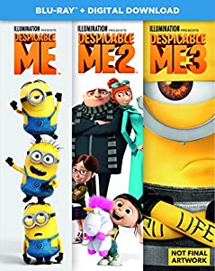 Despicable Me 1-3 Boxset (2D BD + digital download) [Blu-ray] [2017] from Universal Pictures