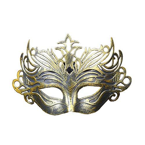 Fansi Damen Herren Maske Venezianische Maskerade Masquerade Venedig Karneval Partei Maske Mode Retro Halloween Weihnachten Kunststoff ()