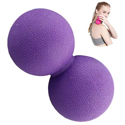 Peanut Massage Ball Doppel Lacrosse Massage Ball Mobility Ball Für Physiotherapie Deep Tissue Massage-Werkzeug Für Myofascial Freigabe Muscle Relaxer Akupunkt-Massage (Relaxer Design)