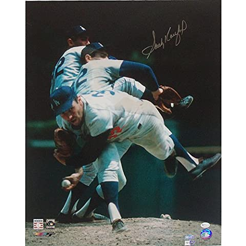 Steiner Sports MLB Los Angeles Dodgers Sandy Koufax Multi Exposure 16x20 Photograph