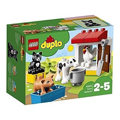 LEGO - 10870 - Duplo Ma ville - Jeu de Construction - les Animaux de la Ferme