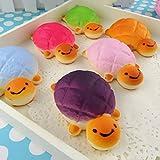 1 x Squishy Schildkröte Schildkröte Brot Brötchen Gelegentliche Farbe