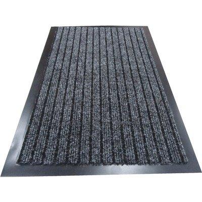 Hohe Qualität Deluxe anthrazit Gerippter die Sauberlaufmatten. Maschinenwaschbar Fußmatte Dirt Trapper geeignet Küche Fußmatten Eingang, Matten, waschbar Matten, Office-Teppiche, Fußmatten Eingangsbereich, Staub-Teppiche, Staub Control Fußmatten, Barriere-Teppiche, Fußmatten, Staub Control Bodenmatten. Diese Gummi Edge Anti-Rutsch Boden Matten sind eine der besten Staub Fallensteller Matten und können bei Büro Empfang, Restaurants, Lebensmittel Läden, Food-, Barber Shop, Post und Off Lizenz Geschäften., plastik holz, grau, 100 x 150 cm