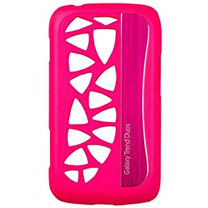 Generic Designer Back Cover for Trend Duos - Neon Pink