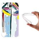 WoowCase Umi Rome Hülle, Handyhülle Silikon für [ Umi Rome ] Abstrakte Farben Muster 2 Handytasche Handy Cover Case Schutzhülle Flexible TPU - Transparent