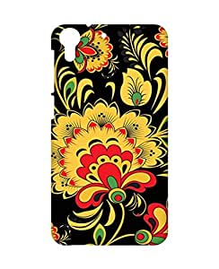 Crackndeal Back Cover for HTC Desire 728