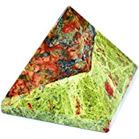 Pyramid - Unakite Gemstone 2-2.5 Inch Chakra Balancing Reiki Healing preisvergleich bei billige-tabletten.eu