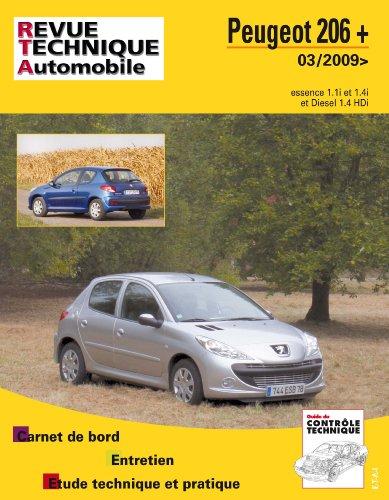 Revue Technique B735 Peugeot 206 + 03/2009> Ess + 1.4 Hdi