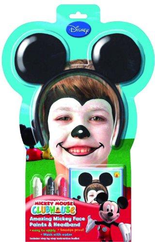 kset Mickey Mouse inklusiv Haarreif mit Ohren (Mickey Mouse Kostüm Ideen)