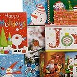 Christmas-Print Shirt Gift Boxes, 3-ct. Packs by Christmas House