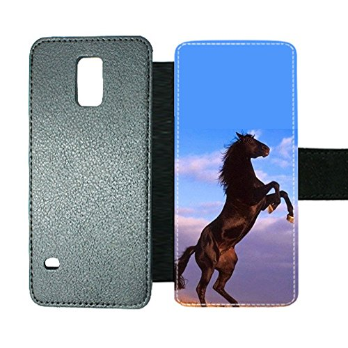 Rigid Plastic Print With Horse Men For Galaxy Note 4 Interesting Phone Cases (Galaxy Note 4 Louis Vuitton)