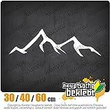 KIWISTAR - Wanderer Bergsteiger Heckscheibe in 15 FARBEN Aufkleber Sticker