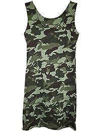 Only Damen Langarmshirt Shirt Longsleeve Camouflage Print Army Damenshirt Top