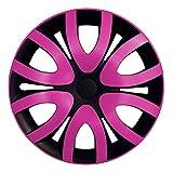 (Farbe & Größe wählbar) 16 Zoll Radkappen MICKY Pink passend für fast alle Fahrzeugtypen – universal