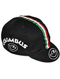 Cinelli 46157150114 - Gorra (talla única), diseño con logo de Columbus, color negro