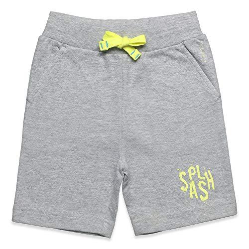 ESPRIT KIDS Jungen Knit Shorts Shorts, per Pack Grau (Heather Grey 203), 116 (Herstellergröße: 116+)