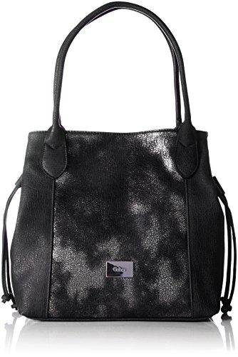 Schwarze Lange Gewand Tasche (Gabor Damen Granada Glam Schultertasche, Schwarz (Schwarz), 17.5 x 28 x 35 cm)