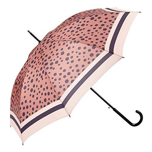 EZPELETA Paraguas Largo Mujer. Automático antiviento