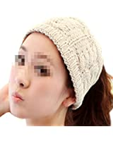 Nsstar Women Lady Grils Winter Warmer Korea Knit Crochet flora Twist Style Hair Band Headband Head Wrap Hair Band Ear Warmer