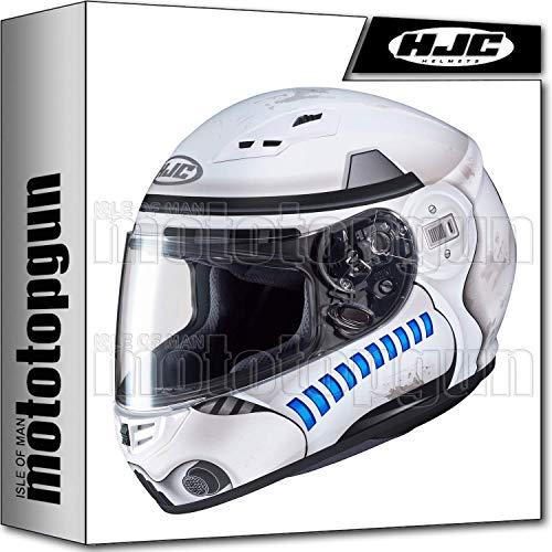 MOTOTOPGUN Hjc casco da moto integrale cs-15Star Wars Storm Trooper MC10SF l