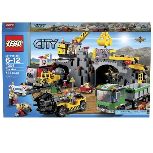 LEGO City 4204 The Mine by LEGO City [Toy]